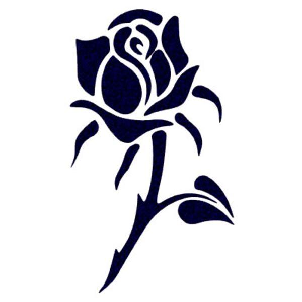 Adh sif voiture tattoo noir et rose cadox feu vert - Tattoo rose noir ...
