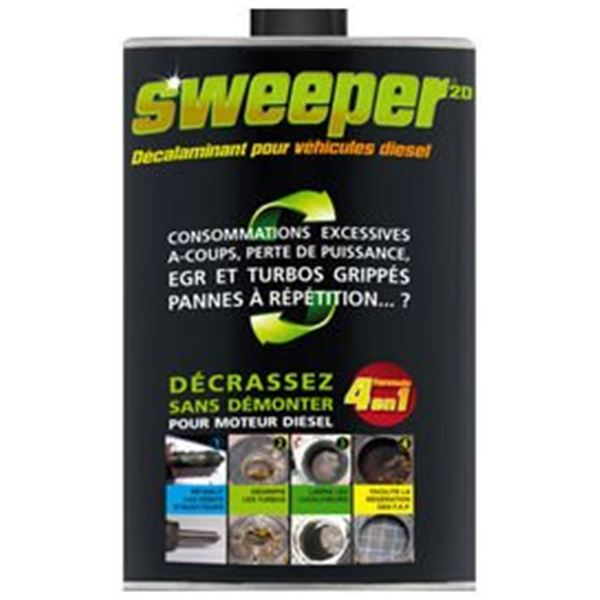 additif diesel d calaminant sweeper 2l feu vert. Black Bedroom Furniture Sets. Home Design Ideas