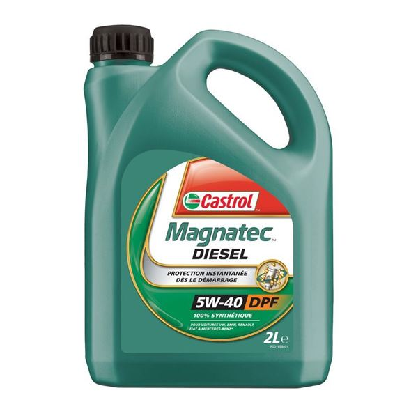 huile de synth se moteur castrol magnatec diesel 5w40 b4 2l feu vert. Black Bedroom Furniture Sets. Home Design Ideas