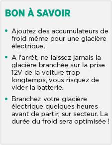 Glacière électrique - glacière voiture - sac isotherme - Feu Vert 63c3c4571ad3