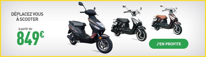 scooter 50 cc v lo lectrique batterie scooter feu vert. Black Bedroom Furniture Sets. Home Design Ideas