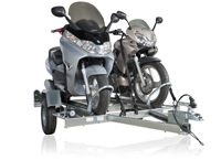 remorque voiture transport porte moto pas ch re feu vert. Black Bedroom Furniture Sets. Home Design Ideas