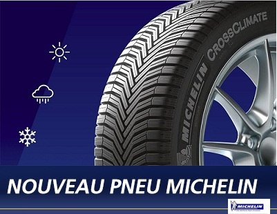 Nouveau pneu Michelin Cross climate