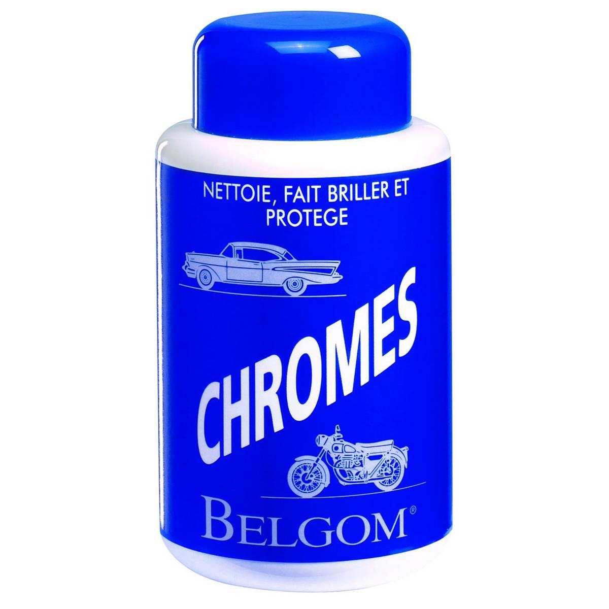 Nettoyant lustreur chromes Belgom 250 ml