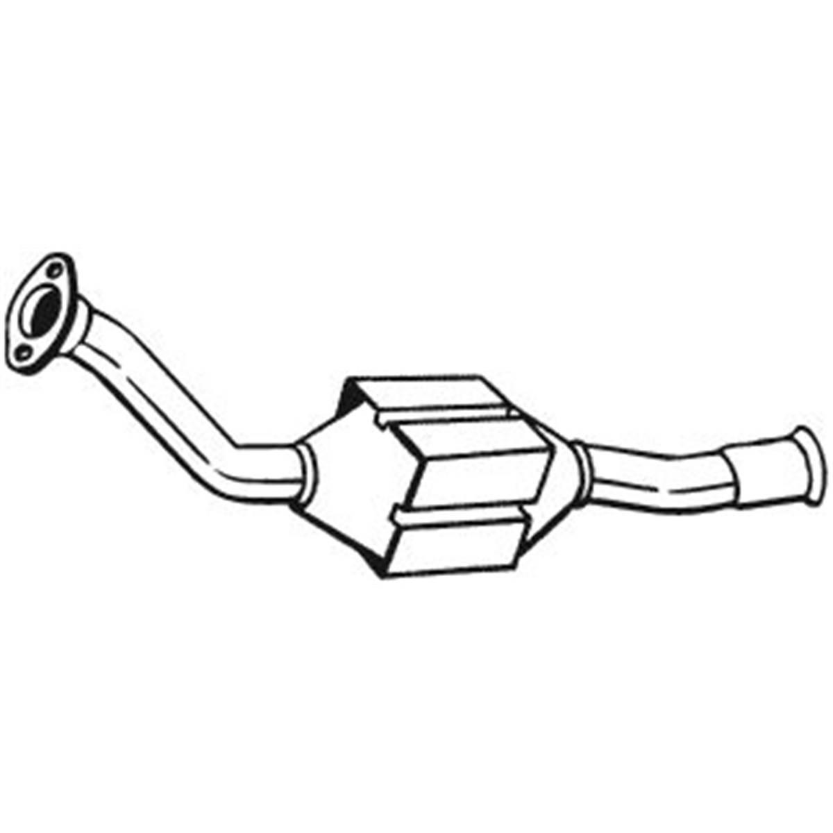 1 catalyseur Bosal 099219