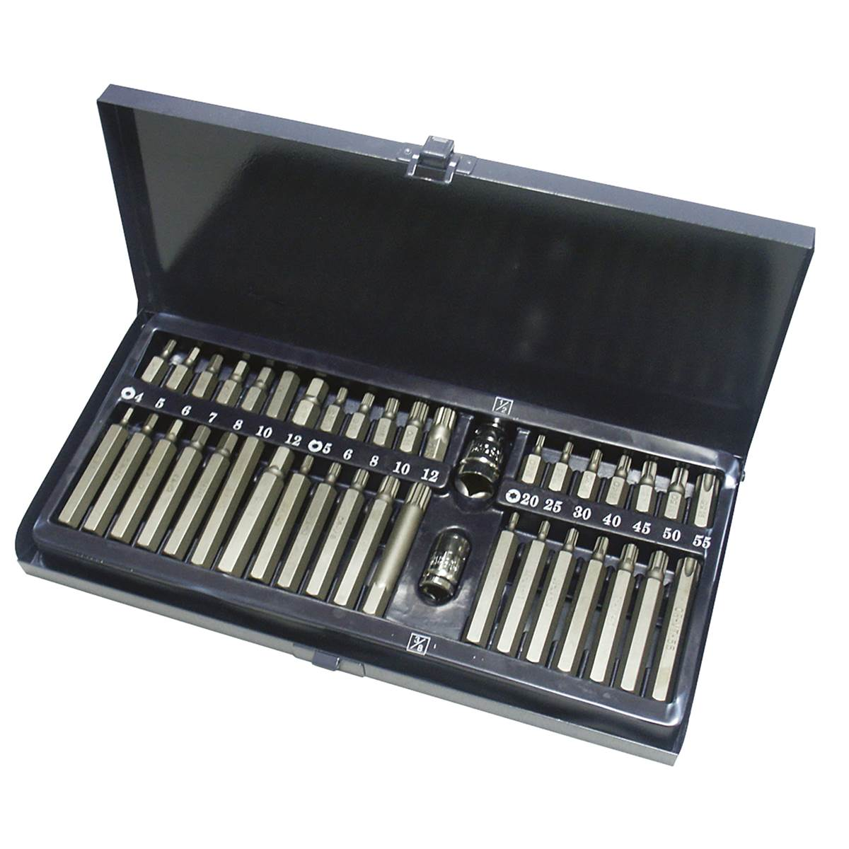 COFFRET METALLIQUE 40PCS