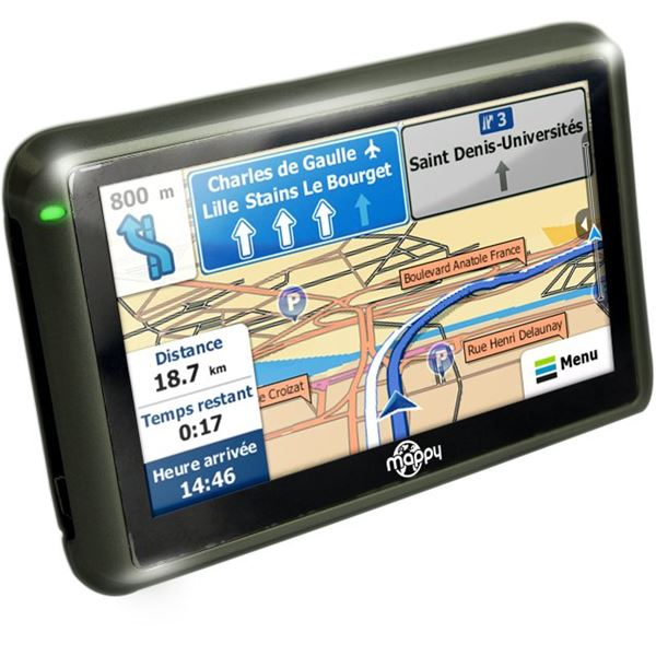 GPS Mappy iti 405 France