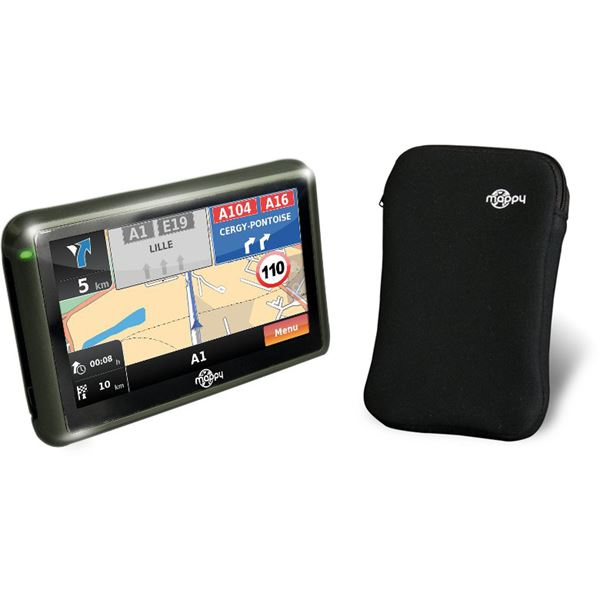 GPS Mappy Iti E408 Europe + housse de protection offerte