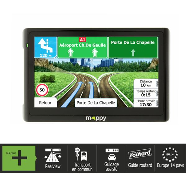 GPS Mappy Ulti E511 Europe
