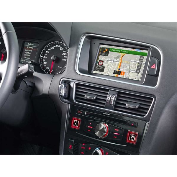 autoradio gps alpine x702d q5 feu vert. Black Bedroom Furniture Sets. Home Design Ideas