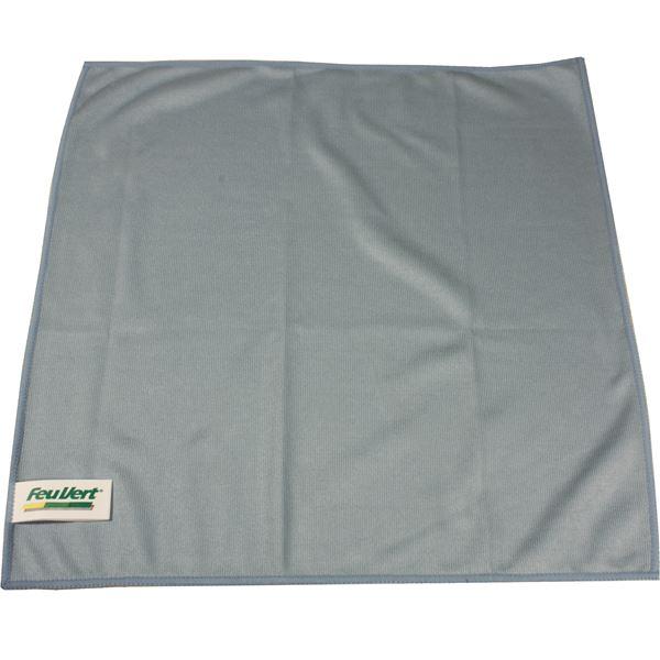 microfibre vitres feu vert 40 x 40 cm feu vert. Black Bedroom Furniture Sets. Home Design Ideas