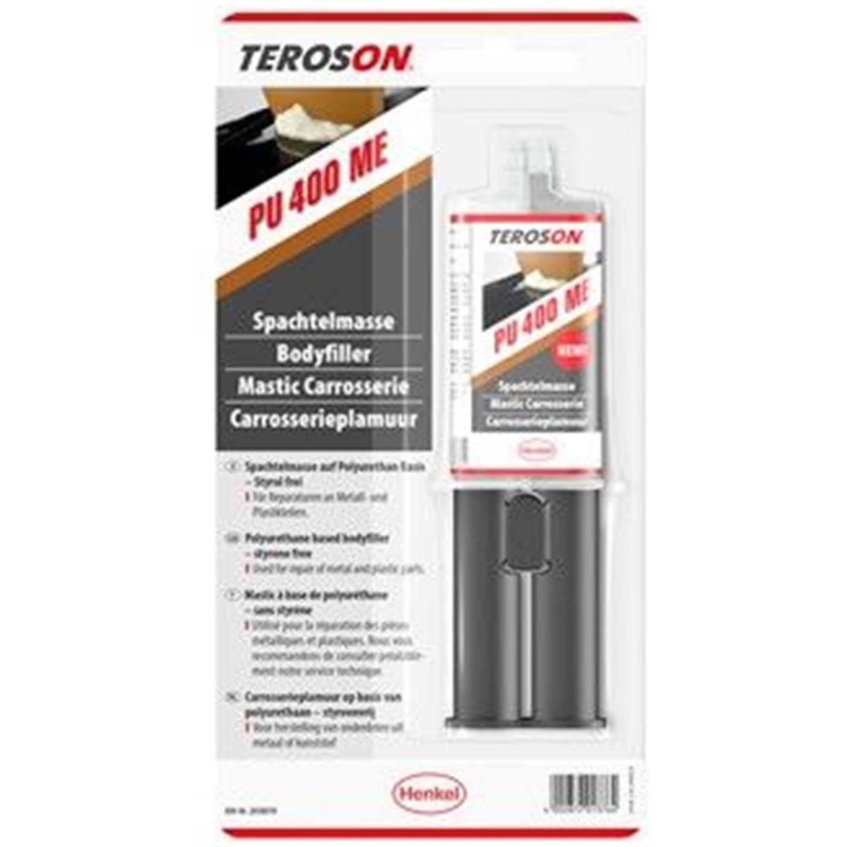 Mastic métal PU400ME Teroson