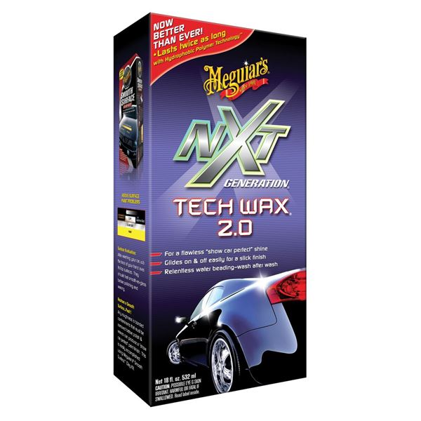 Cire de protection NXT Tech Wax Meguiar's 532 ml
