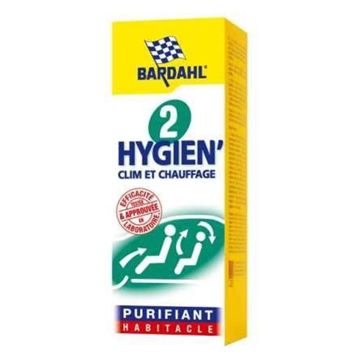 Hygiène habitacle curatif Bardahl 125 ml