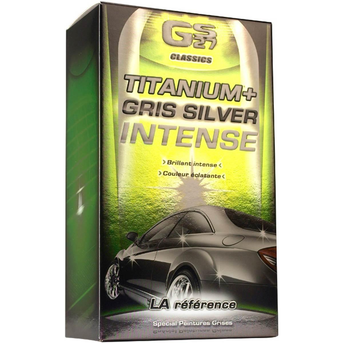 COFFRET LUSTREUR TITANIUM+ GRIS SILVER INTENSE GS27