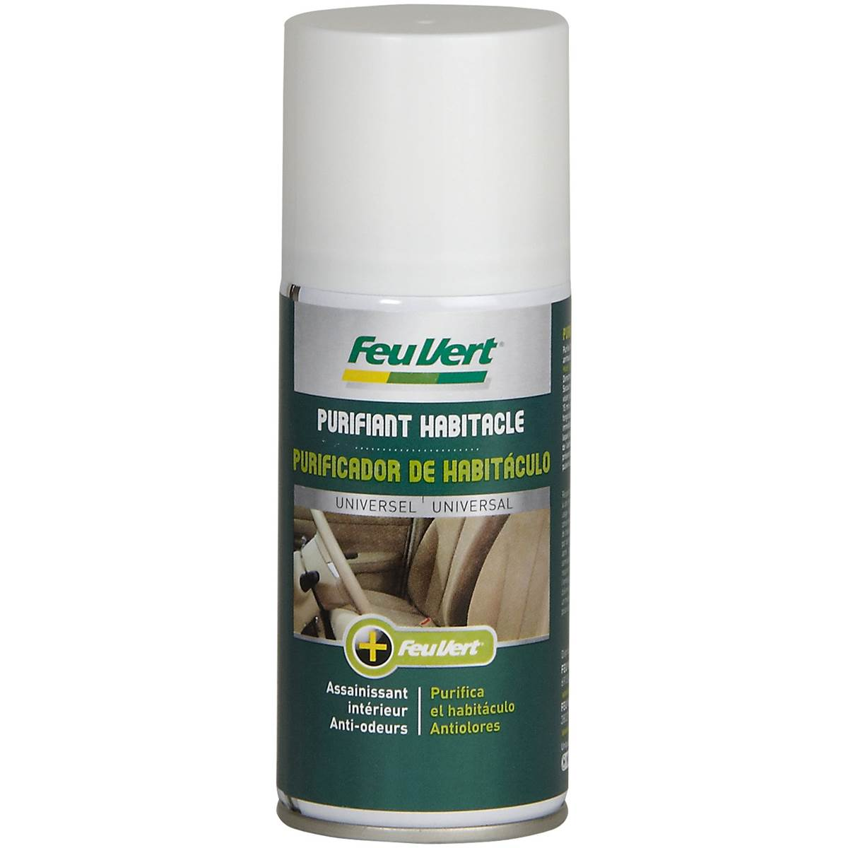 Purifiant habitacle Feu Vert 150 ml