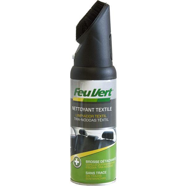 Nettoyant Tissus Et Moquettes Feu Vert 400 Ml Avec Brosse Feu Vert