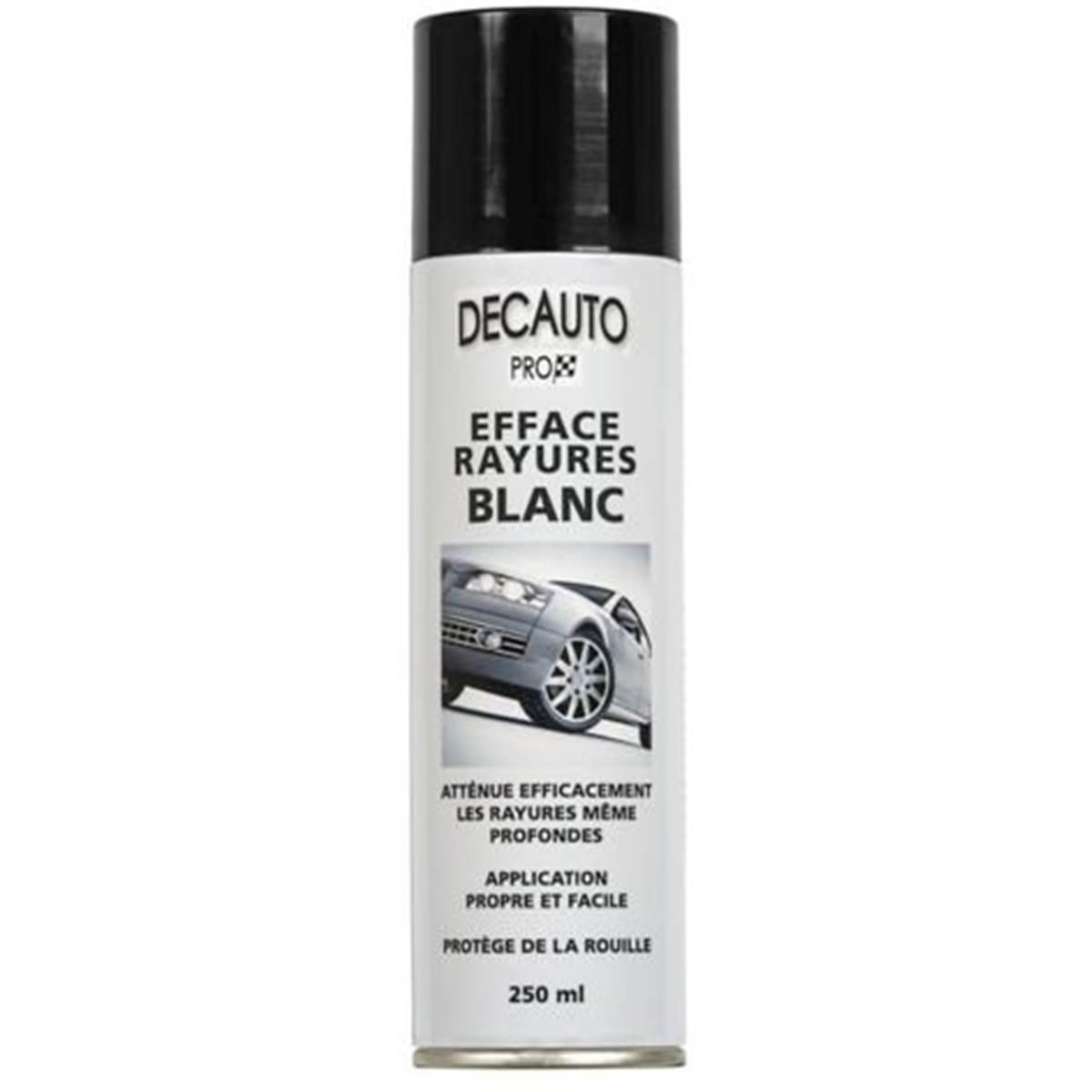 Efface rayures blanc en spray, 250 ml