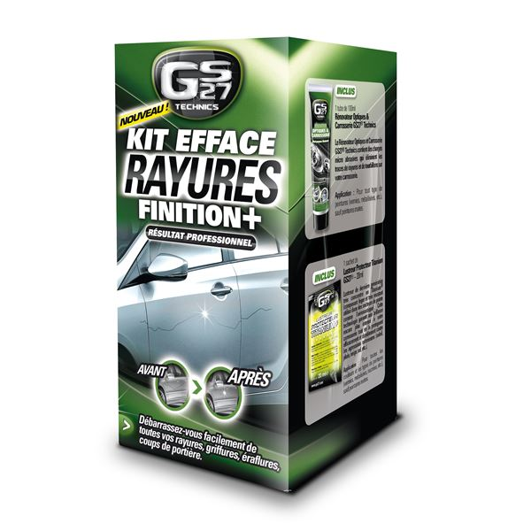 Kit efface rayures Finition Plus GS27