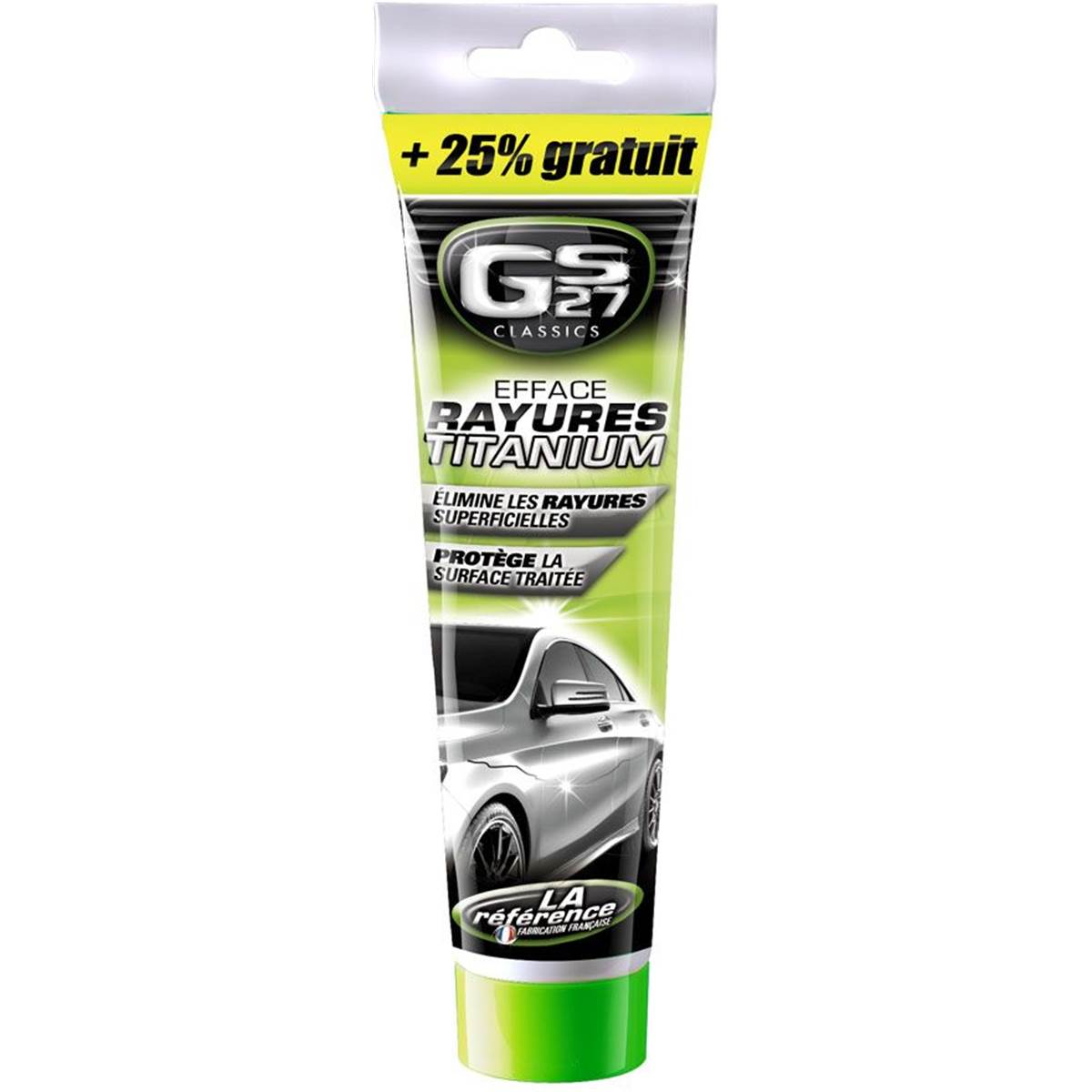Efface rayures Titanium GS27 + 25% GRATUIT
