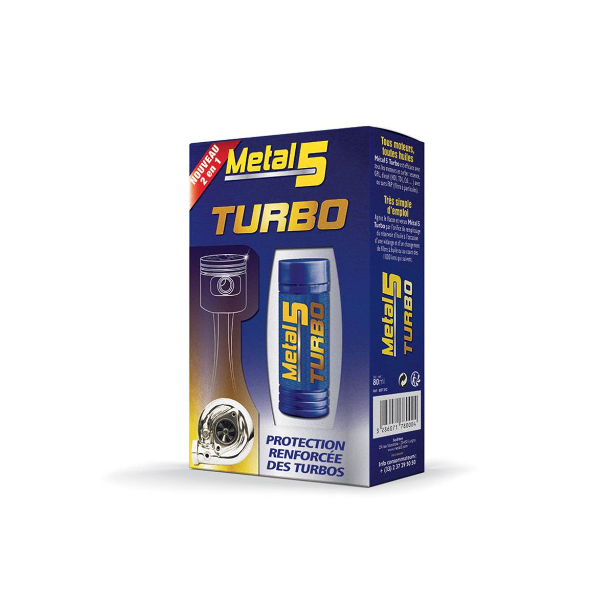 METAL 5 Curatif Turbo 80ml