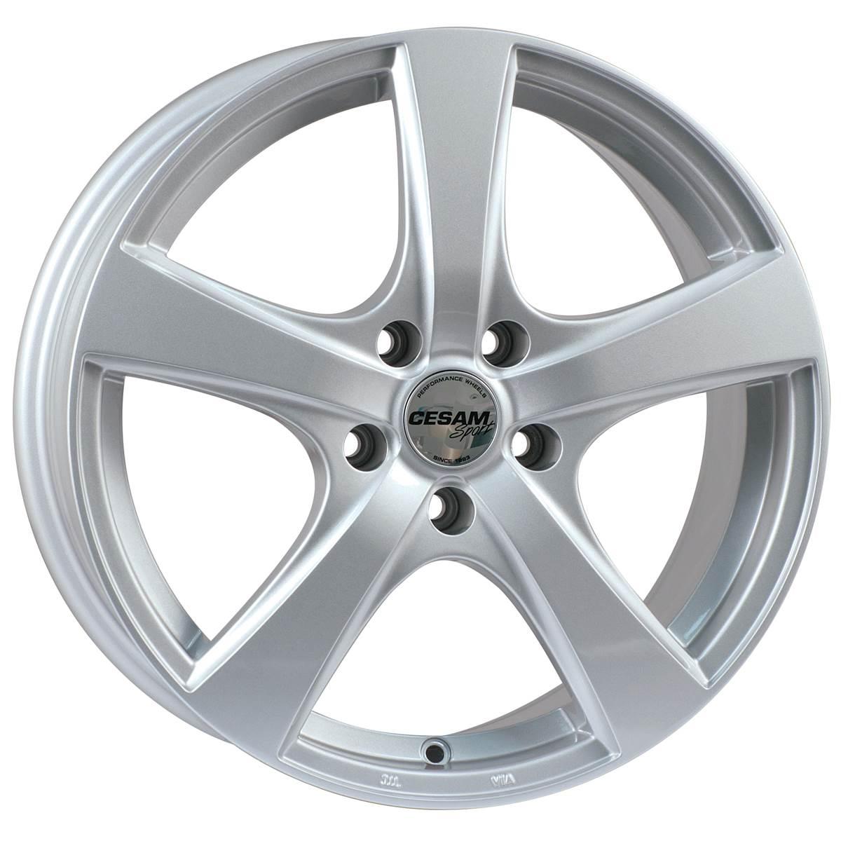 Jante CESAM Artik Silver 6,5x16 5x112ET38