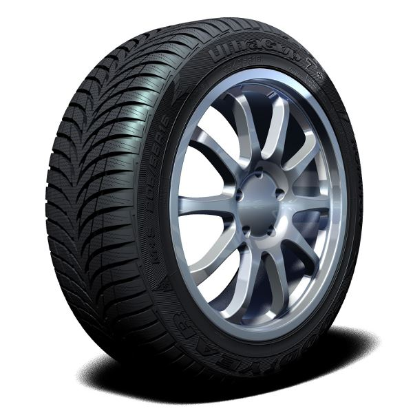 Pneu Goodyear 195/65R15 95T ULTRA GRIP 7+ MS XL