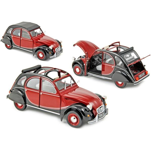 Voiture miniature Citroën 2CV Charleston 1982 Delage Red