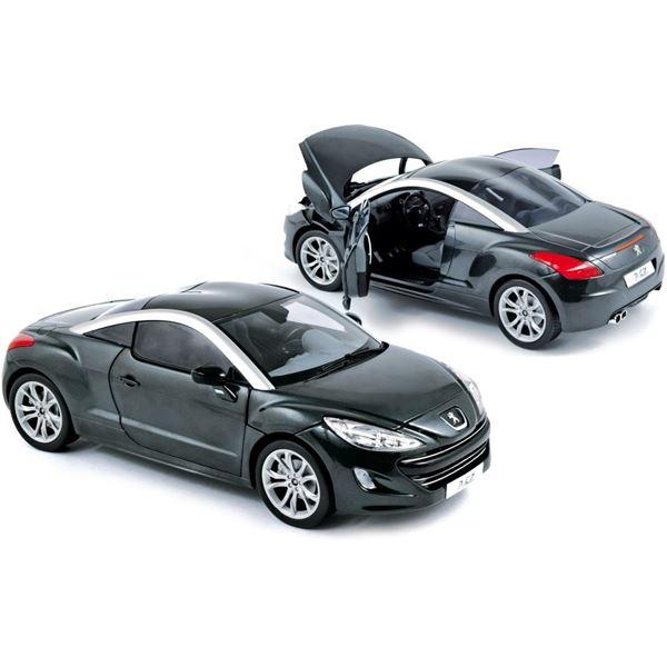 voiture miniature peugeot rcz 2010 haria grey feu vert. Black Bedroom Furniture Sets. Home Design Ideas