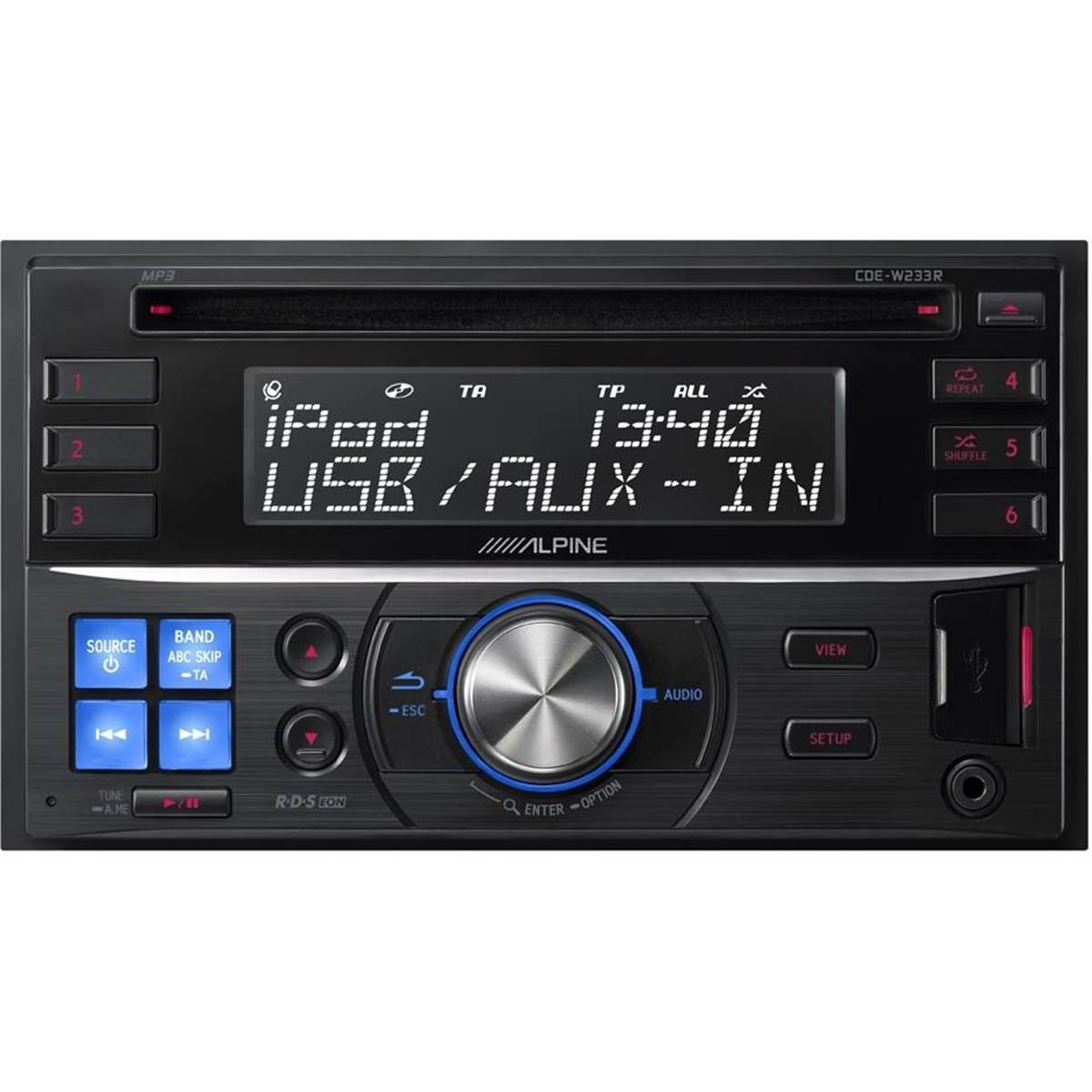 Autoradio Alpine CDE-W233R