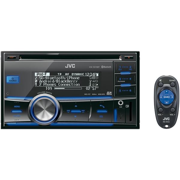 Autoradio JVC KW-SD70BT