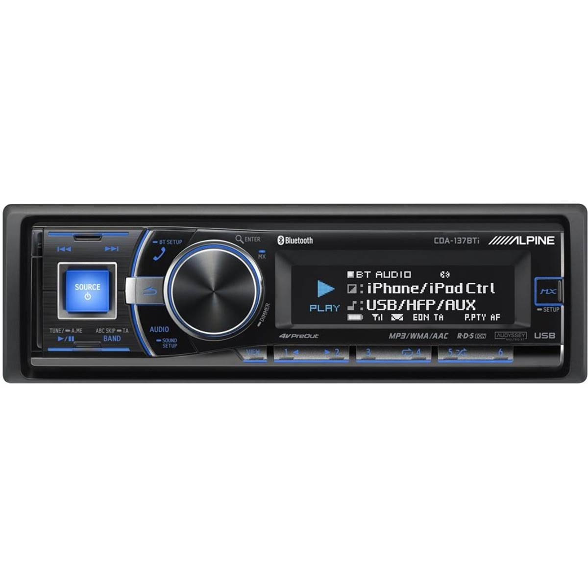 Autoradio Bluetooth Alpine CDE-137BT