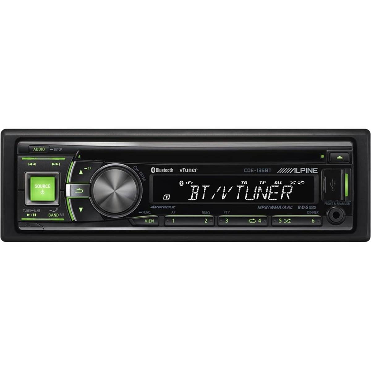 Autoradio Alpine CDE-135BT