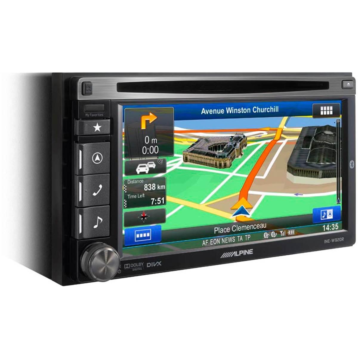 Autoradio GPS Alpine INE-W920R