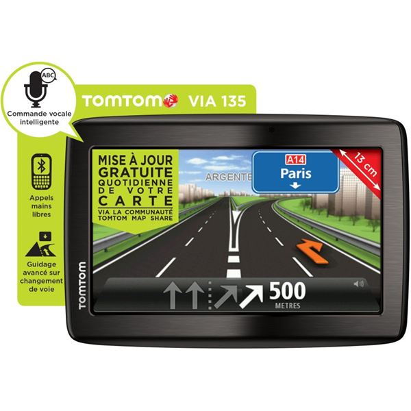 GPS TomTom Via 135 Europe