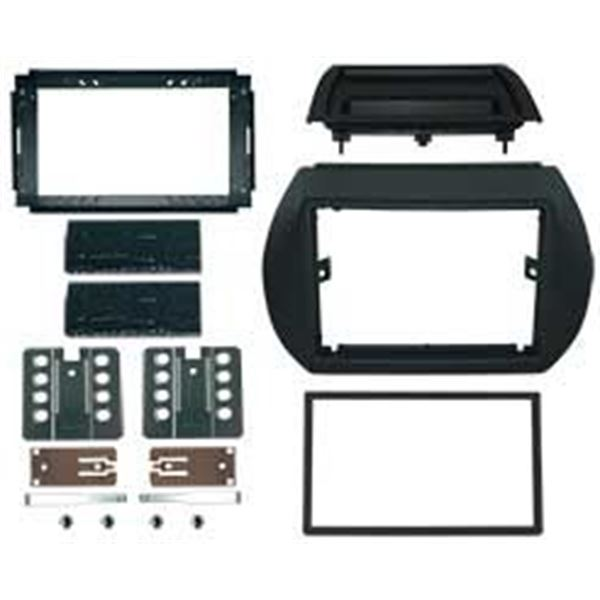 Support autoradio double DIN FIAT QUBO / FIORINO 2010>