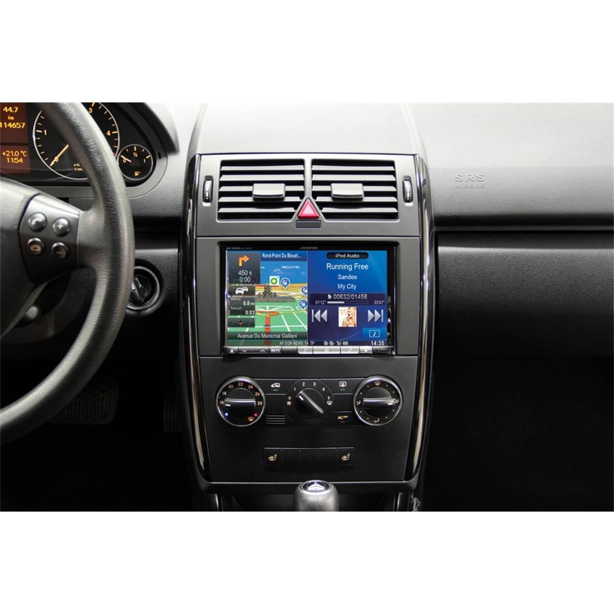 Kit d'intégration autoradio 2DIN Alpine INE-W928R Mercedes