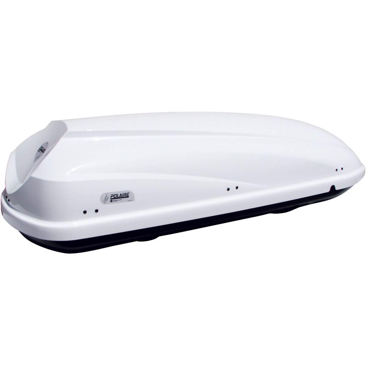 Coffre de toit mixte Travel blanc 460