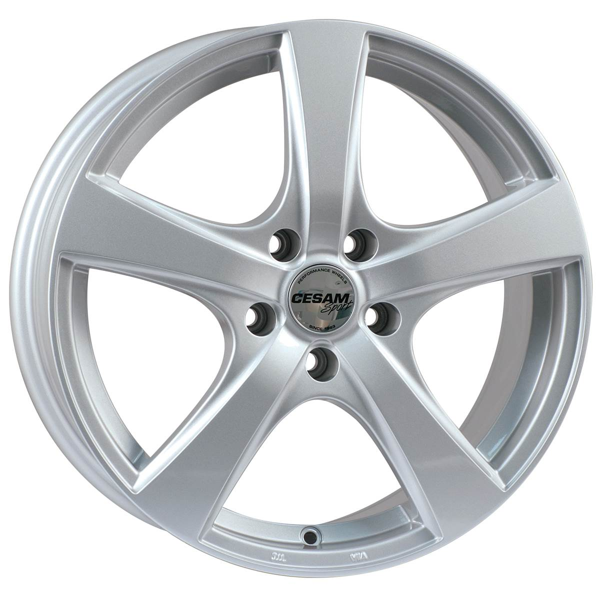 Jante CESAM Artik Silver 6,0x15 5x098ET32