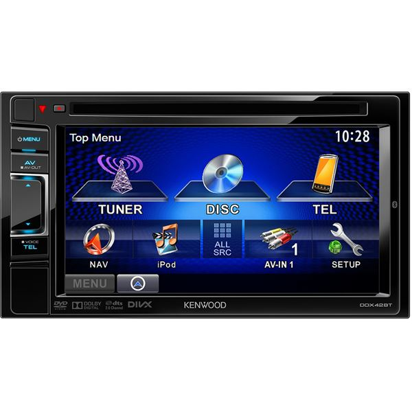 Autoradio Kenwood DDX42BT