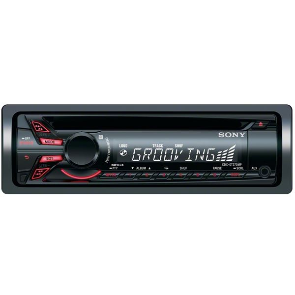 Autoradio Sony CDX-GT270MP