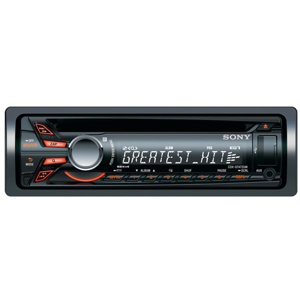 Autoradio Sony CDX-GT472MP