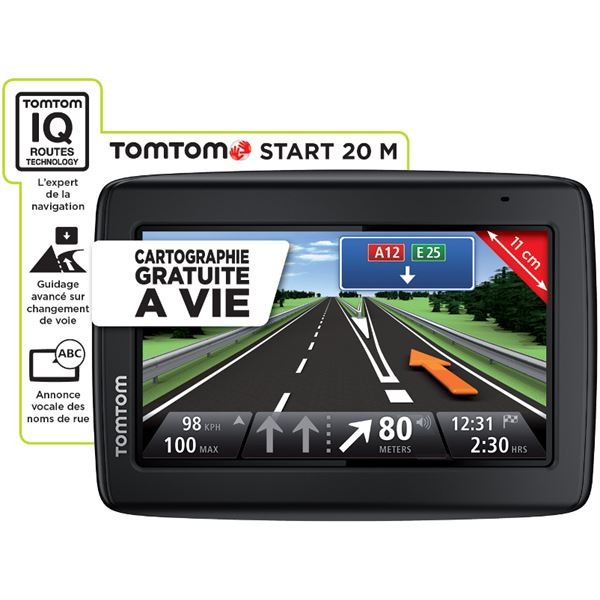 gps tomtom start 20 m europe cartographie gratuite vie feu vert. Black Bedroom Furniture Sets. Home Design Ideas