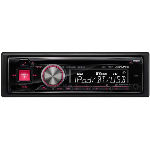 Autoradio Alpine CDE-174BT