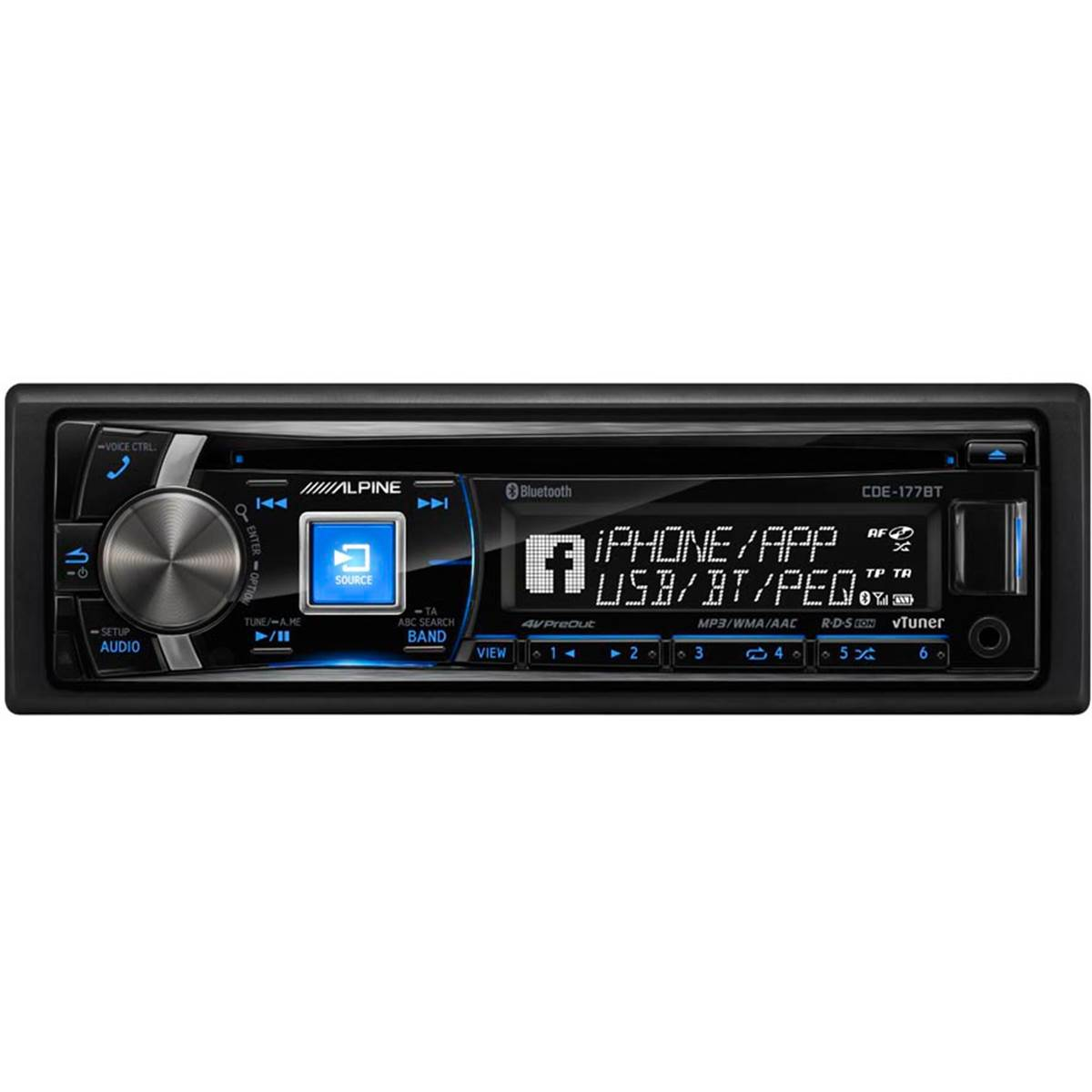 Autoradio Bluetooth Alpine CDE-177BT