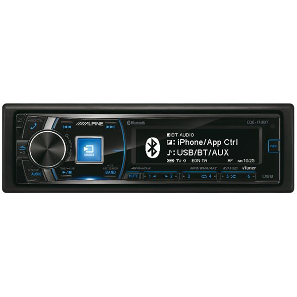 Autoradio Bluetooth Alpine CDE-178BT
