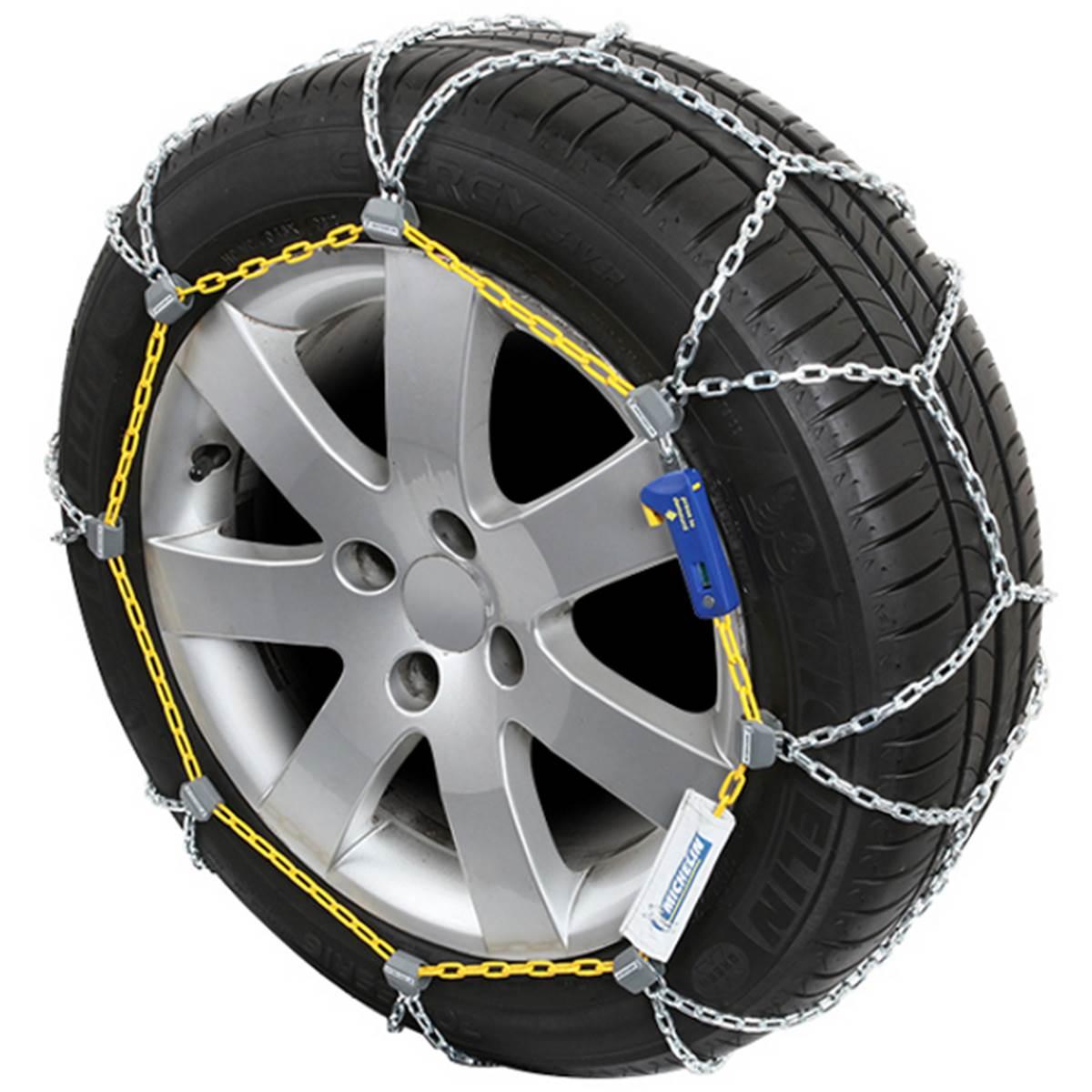 2 Chaînes neige Michelin elastic Chain MI20