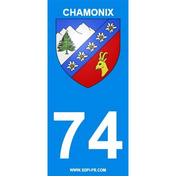 2 stickers voiture chamonix 74 feu vert. Black Bedroom Furniture Sets. Home Design Ideas
