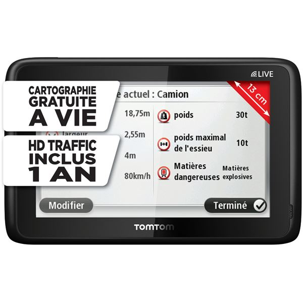 GPS TomTom Pro 5150 Truck Live Europe