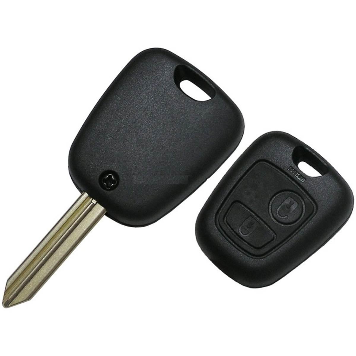 Coque de clé adaptable pour PSA Expert , Partner, Xsara, Picasso 2 boutons